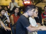 Pianovers Meetup #104, Jeremy Foo, and Ashley Nguyen performing