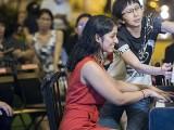 Pianovers Meetup #104, Helping hand from Pek Siew Tin, for Mayuri