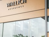 Performing at Wallich Residence, Entrance