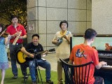 Pianovers Meetup #106 (Christmas Themed), Corrine Ying, Goh Zensen, Teo Gee Yong, Lim Ee Fong, and Gan Theng Beng performing