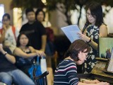 Pianovers Meetup #106 (Christmas Themed), Janice Liew, and Jessie Quah performing