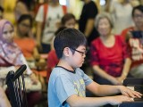 Pianovers Meetup #106 (Christmas Themed), Wesley Chang performing