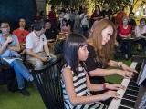 Pianovers Meetup #106 (Christmas Themed), Ng Kai Di, and Tracy Lin performing
