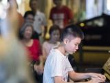 Pianovers Meetup #106 (Christmas Themed), Jacob performing