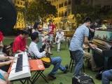 Pianovers Meetup #106 (Christmas Themed), Pianovers jamming