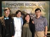 Pianovers Recital 2018, Jonathan Lam, Teh Yuqing, and his parents