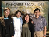 Pianovers Recital 2018, Jonathan Lam, Teh Yuqing, and his parents