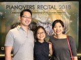 Pianovers Recital 2018, Hiro, Erika Iishiba, and Winny Tunardy #2