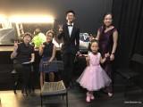 Pianovers Recital 2018, Pek Siew Tin, Erika Iishiba, Max Zheng, Chia I-Wen, and Jenny Soh