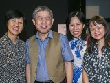 Pianovers Recital 2018, Janelene Leong, Adrian Huang, Chung May Ling, and Audrey Cheong