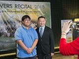 Pianovers Recital 2018, Zafri Zackery, and Gavin Koh