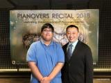 Pianovers Recital 2018, Zafri Zackery, and Gavin Koh #2