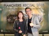 Pianovers Recital 2018, Teik Lee, and friend