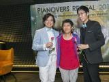 Pianovers Recital 2018, Teh Yuqing, Lim Ee Fong, and Jonathan Lam