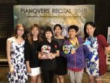 Pianovers Recital 2018, Janice Liew, Elyn Goh, Pek Siew Tin, Winny Tunardy, Lim Ee Fong, and Chung May Ling
