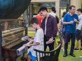 Pianovers Meetup #107, Tyler Pettit, and Kendrick Ong Bing Shao playing