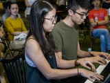Pianovers Meetup #109, Grace Leong, and Joshen performing
