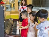Pianovers Meetup #110 (CNY Themed), Young Pianovers playing