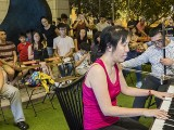 Pianovers Meetup #110 (CNY Themed), May Ling, and Kelvin Sim performing