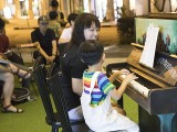 Pianovers Meetup #111, Corrine Ying, and Julian performing for us