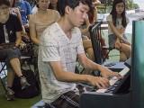 Pianovers Meetup #112, Wang Jiaxin performing