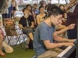 Pianovers Meetup #112, Jeremy Foo, and Adlina Ashar performing