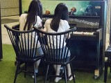 Pianovers Meetup #112, Crystal and Claris performing