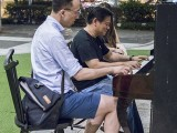 Pianovers Meetup #112, Yu Teik Lee, and Teo Gee Yong jamming