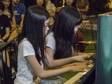 Pianovers Meetup #112, Crystal and Claris performing for us