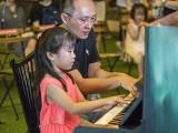 Pianovers Meetup #113, Kayla, and Sng Yong Meng performing