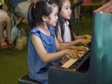 Pianovers Meetup #114, Ellie Yang and Genelle performing