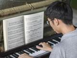 Pianovers Meetup #115 (Bach Themed), Jonathan playing