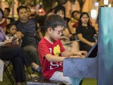 Pianovers Meetup #115 (Bach Themed), Xiaowei performing