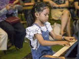 Pianovers Meetup #115 (Bach Themed), Eiliyah performing