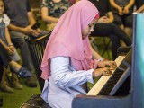 Pianovers Meetup #115 (Bach Themed), Aini performing