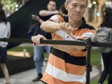 Pianovers Meetup #115 (Bach Themed), Albert Chan helping to tear down equipment
