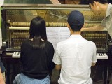 Pianovers Meetup #115 (Bach Themed), Jie Ning, and Yu Mu playing