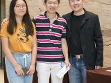 Adam Gyorgy Concert with Pianovers 2019, Rony Ang, his daughter, and Sng Yong Meng