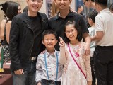 Adam Gyorgy Concert with Pianovers 2019, Sng Yong Meng, Toh Wee Tiong, and his family