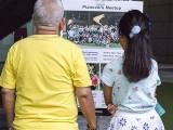 Pianovers Meetup #118, Pianovers looking at Pianovers Meetup poster