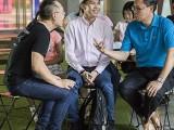 Pianovers Meetup #121, Sng Yong Meng, David, and Chan