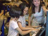 Pianovers Meetup #122, Charlene Lee, and Charlotte Lee performing for us