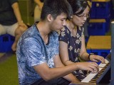 Pianovers Meetup #122, Yeo Ming, and Peng Heng performing