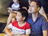 Pianovers Meetup #123, Yiyang, and his father