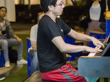 Pianovers Meetup #123, Hiro performing