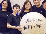Pianovers Meetup #127, Ng Mun Yee, Pek Siew Tin, Elyn Goh, Sng Yong Meng, and Teo Gee Yong