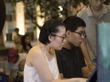 Pianovers Meetup #129, Grace Wong, and Jeremy Foo performing