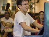 Pianovers Meetup #129, Hiro performing