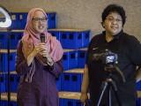 Pianovers Meetup #129, Desiree Abdurrachim, and Widyasari sharing with us