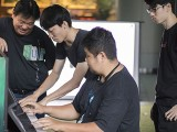 Pianovers Meetup #130, John, and Wang Jiaxin playing